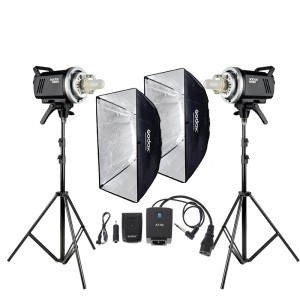 BỘ ĐÈN GODOX STUDIO FLASH KIT MS300 SOFTBOX 60x90