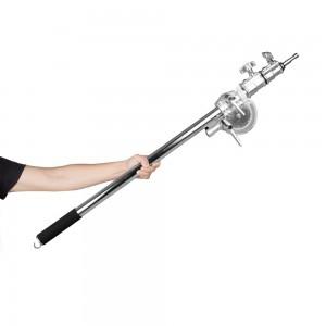 Tay Treo Đèn Inox MK MF-02 - Boom Lights - Chịu lực: 15-20kg