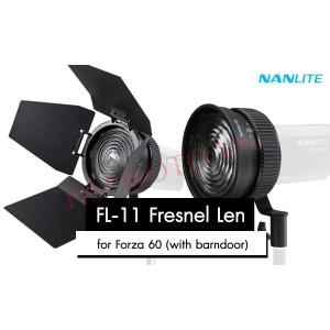 Ống kính Nanlite FL-11 Fresnel Lens dùng cho Forza 60