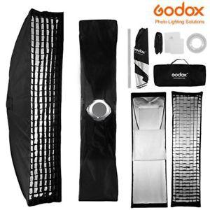 Softbox Godox 22x90cm + Grid tổ ong