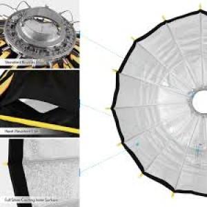 Softbox thao tác nhanh falcon eyes SPB70 kèm grid tổ ong