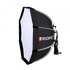Softbox bát giác Triopo KS65 cho đèn flash speedlite Quick