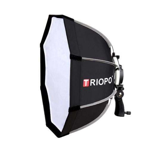 Softbox bát giác Triopo KS65 cho đèn flash speedlite Quick