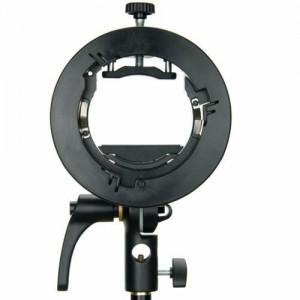 Bộ gá đèn flash Godox S2 V1, AD400pro, AD200 pro