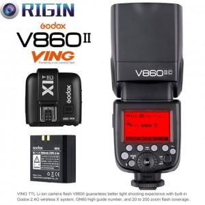 Đèn Flash Godox Li-Ion VING V860 II I-TTL For Canon & Nikon chính hãng