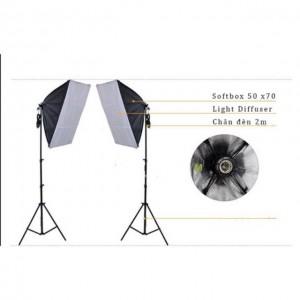 Bộ đèn chụp ảnh sản phẩm 300W